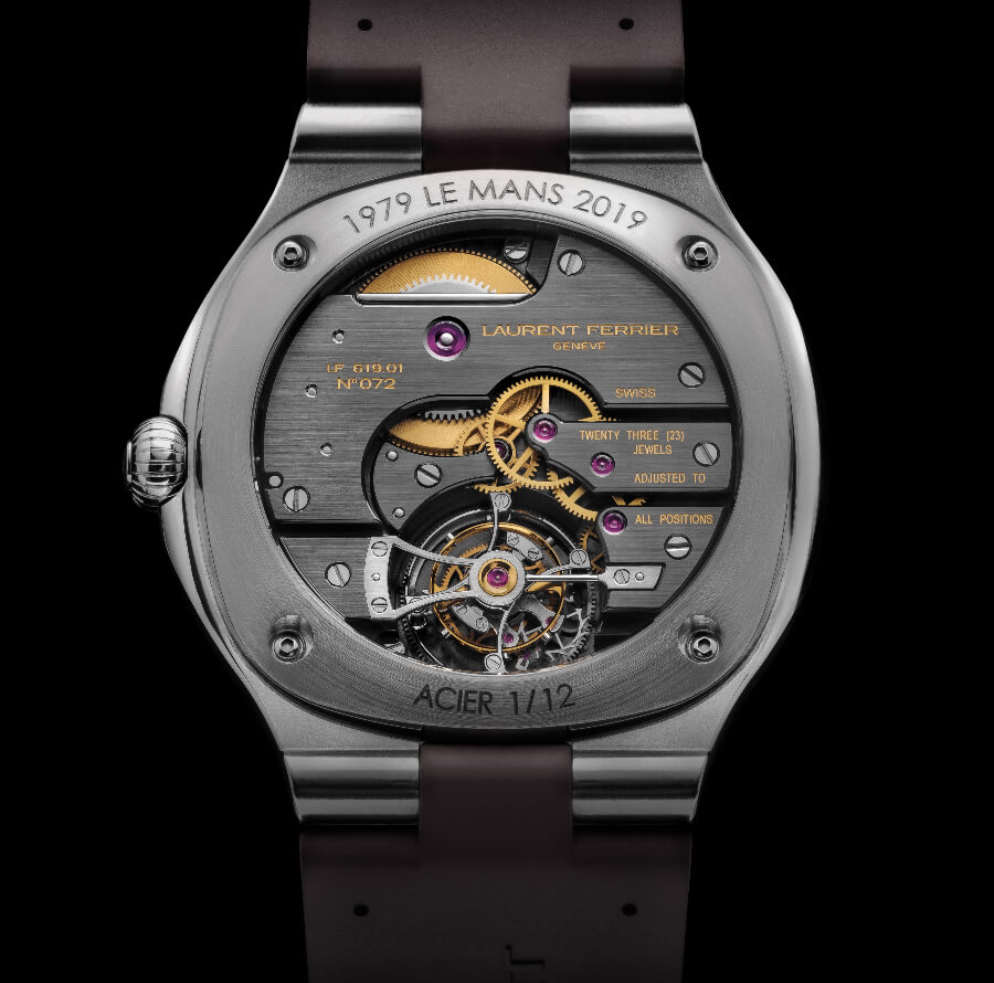 Laurent Ferrier Tourbillon Grand Sport Movement