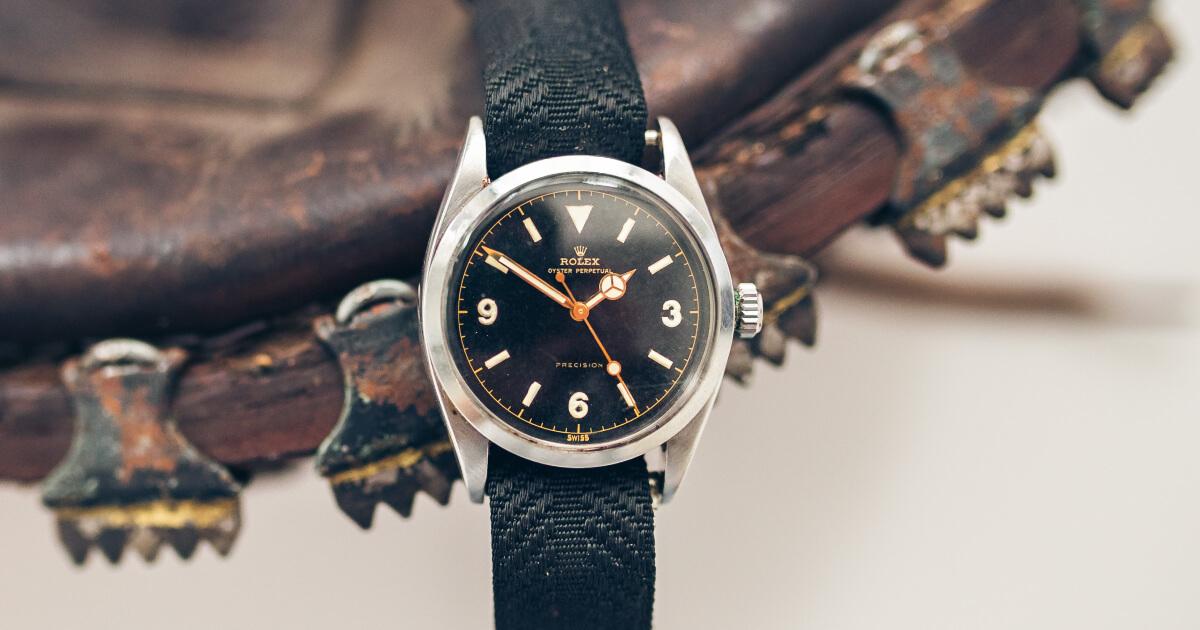 A Rare Rolex 6150 Explorer