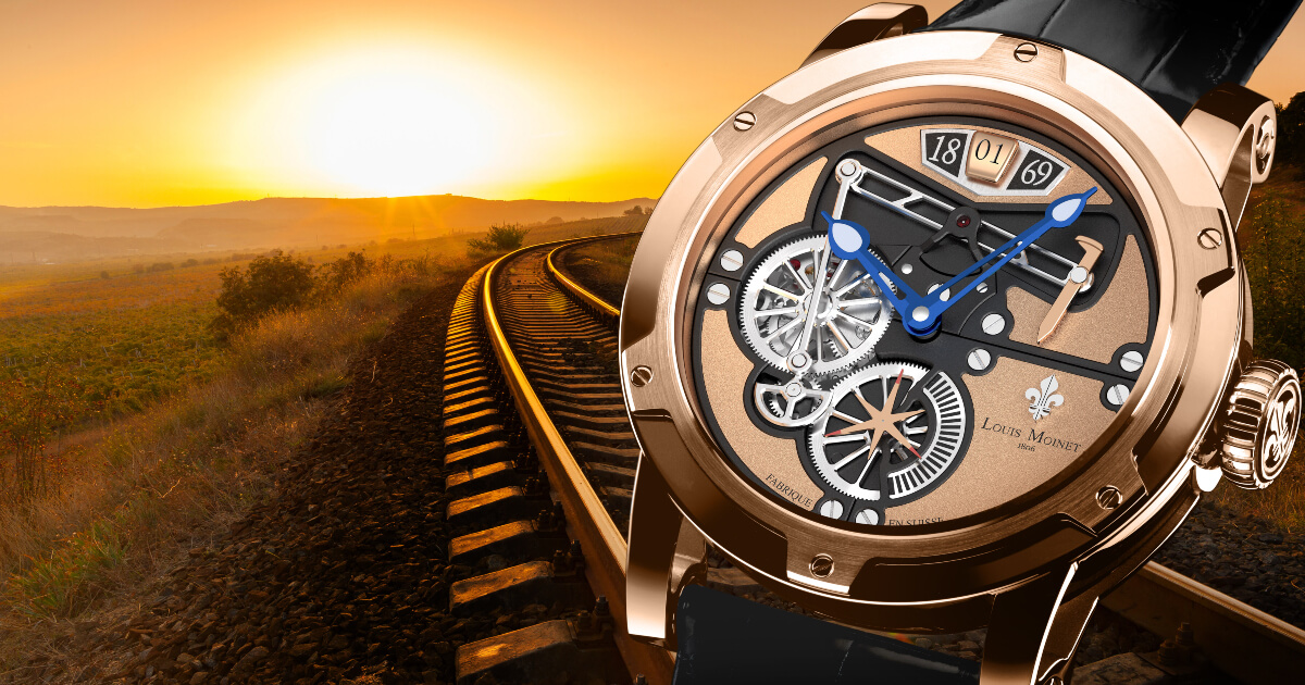 "The ""Transcontinental By Louis Moinet"" Watch (Price and Specifications)"