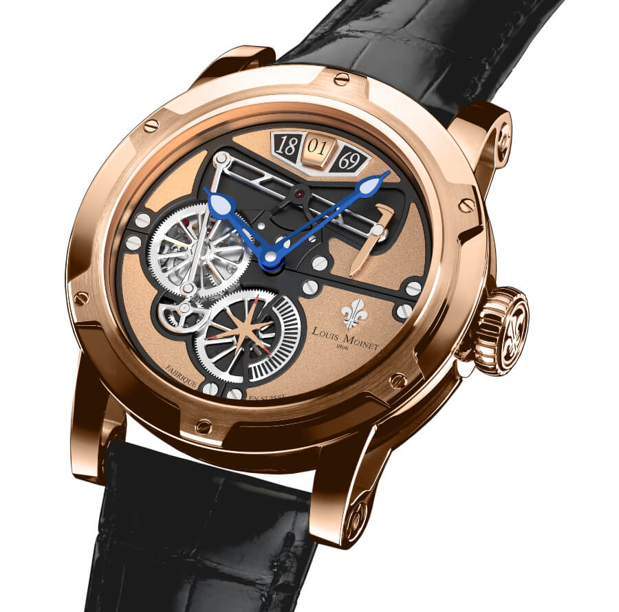 "The ""Transcontinental By Louis Moinet"" Watch"