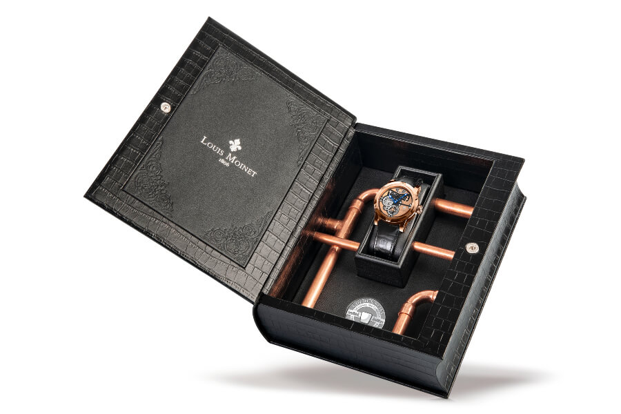 "The ""Transcontinental By Louis Moinet"" Watch Box and Papers"