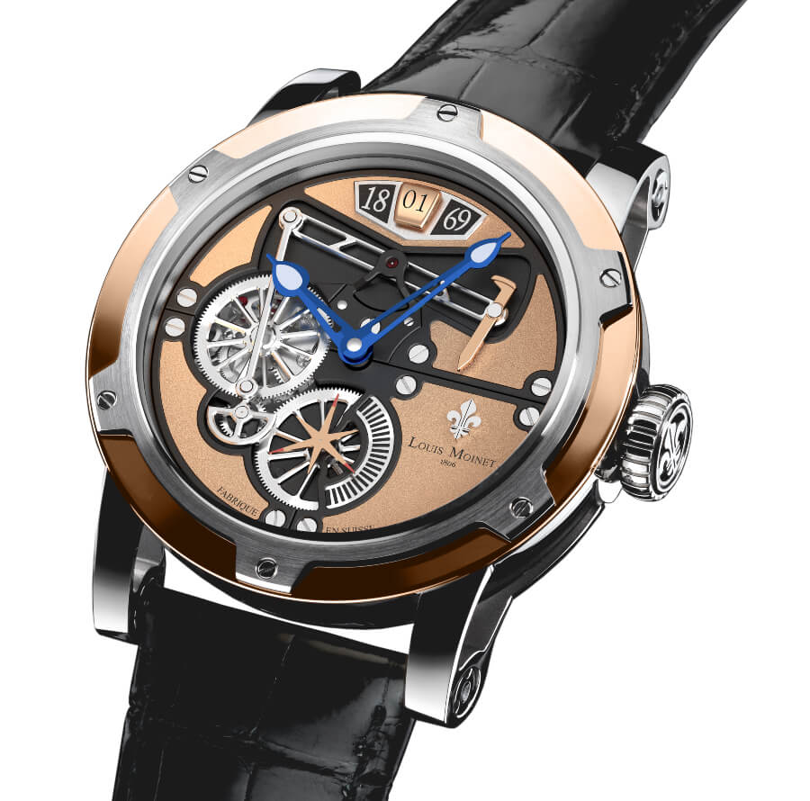 "The ""Transcontinental By Louis Moinet"" Watch Review"