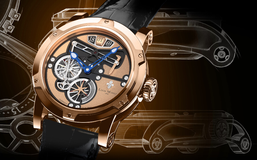 Louis Moinet Men Watch