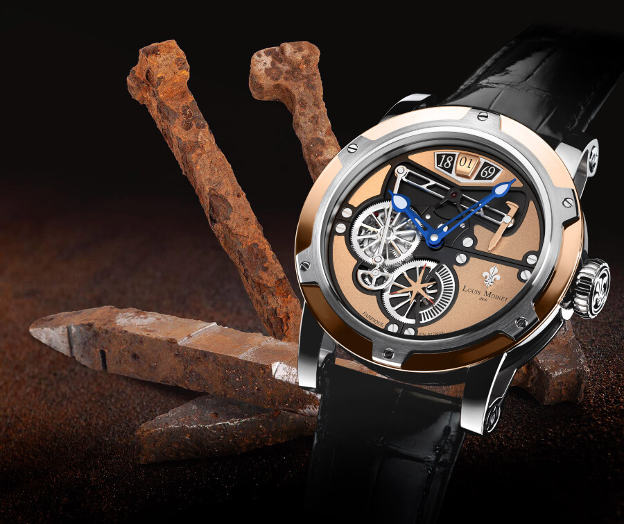 Louis Moinet Transcontinental Watch