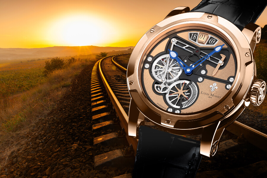 The New Transcontinental By Louis Moinet Watch