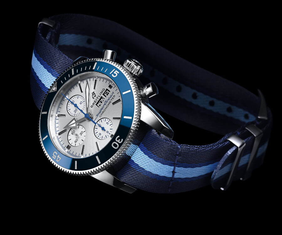 The New Breitling Superocean Heritage II Chronograph 44 Ocean Conservancy Limited Edition