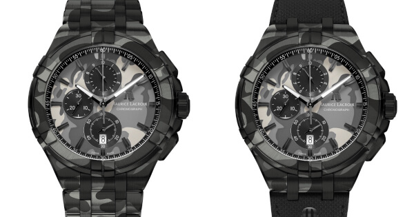 Maurice Lacroix Aikon Chrono 44 MM Camouflage (Price and Specs)