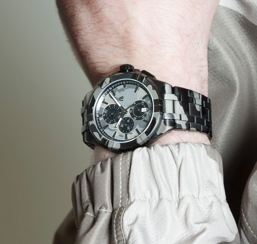 The New Maurice Lacroix Aikon Chrono 44 MM Camouflage