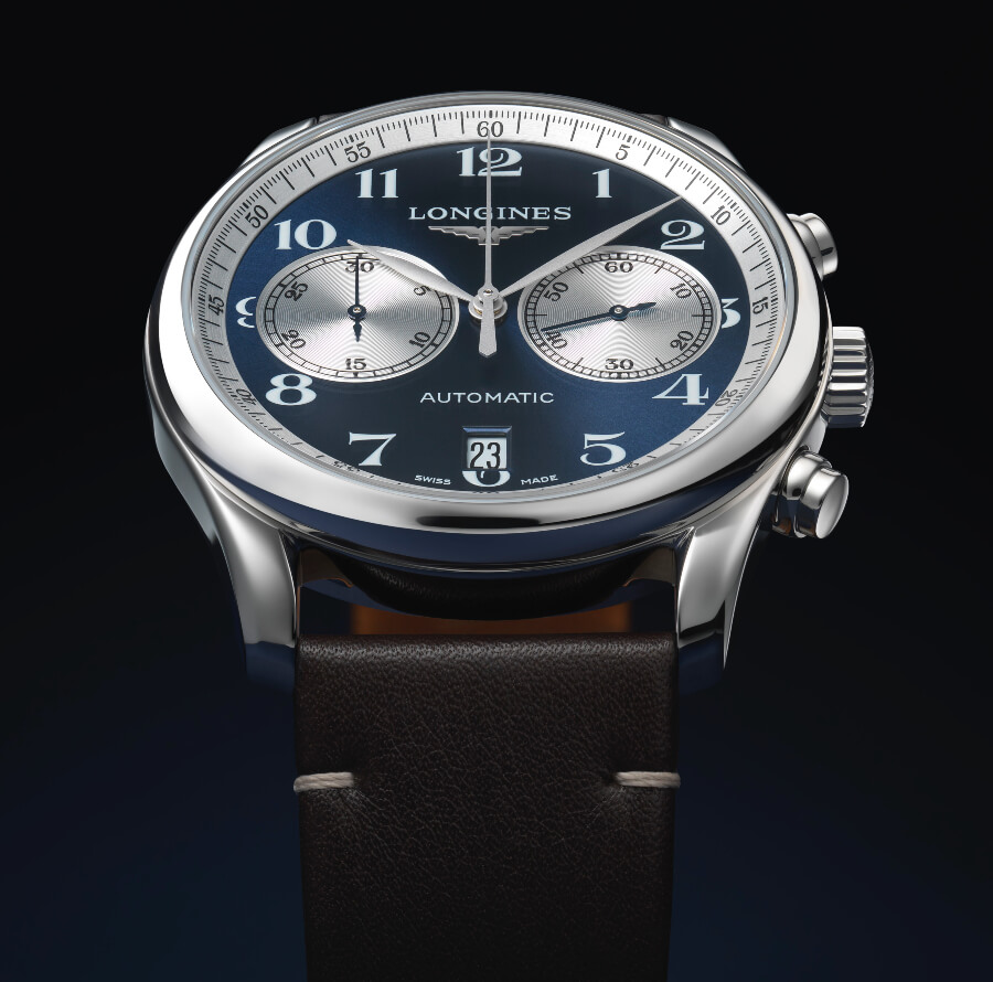 The New Longines Master Collection Chronograph Bucherer Blue Editions
