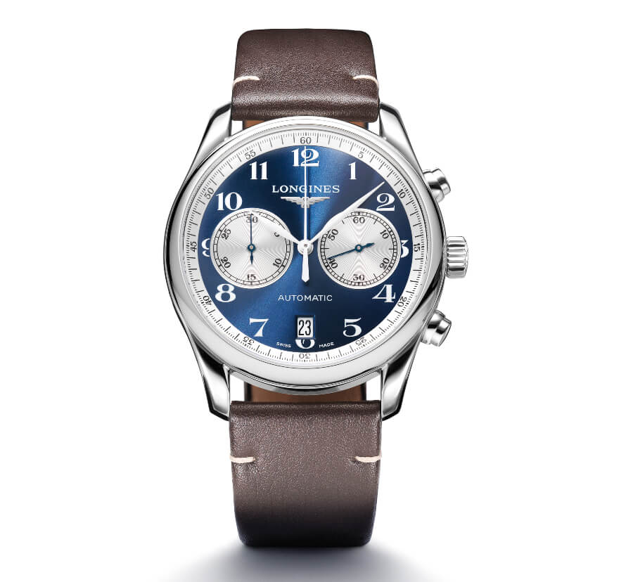 Longines Chronograph Blue Dial