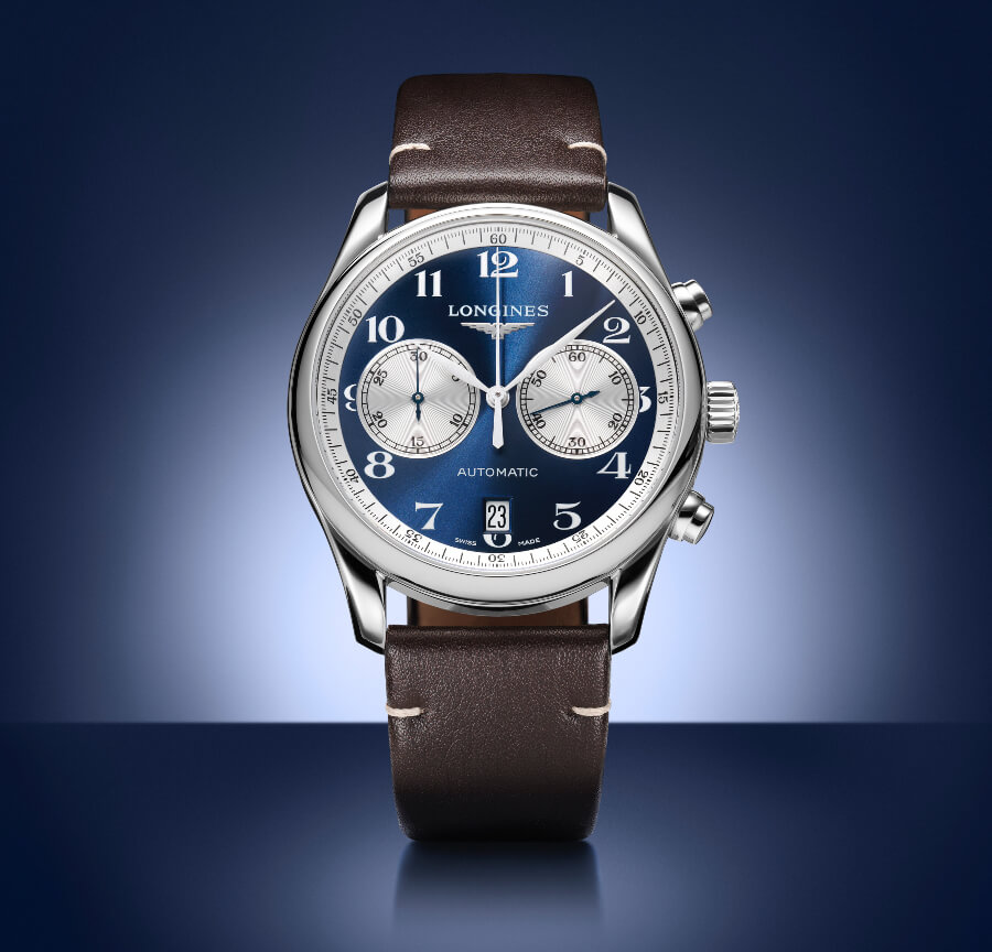 Longines Master Collection Chronograph Bucherer Blue Editions Watch Review