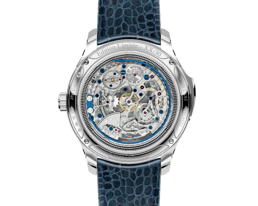 Jaeger-LeCoultre Master Grande Tradition Repetition Minutes Perpetuelle Movement