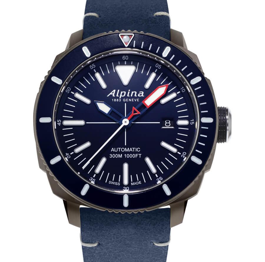 Alpina Seastrong Diver 300 Blue Dial