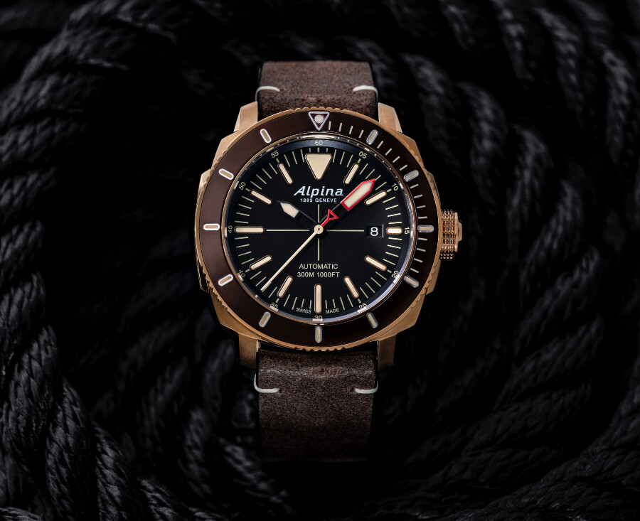 Alpina Seastrong Diver 300 Watch Review