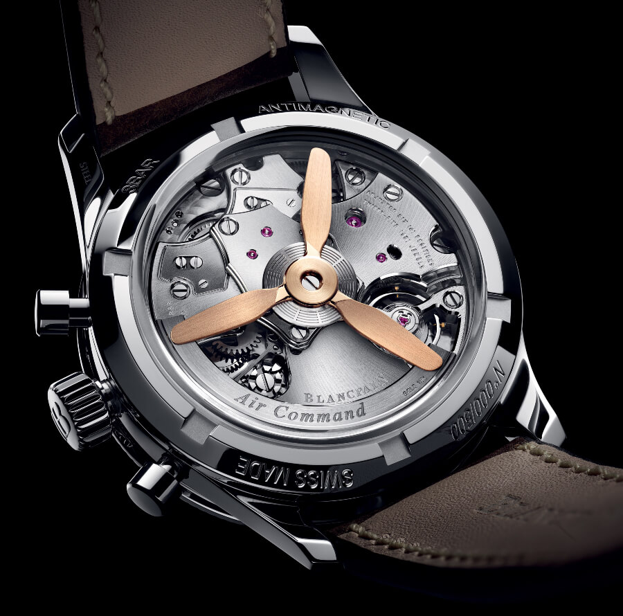 Blancpain Air Command Flyback Movement