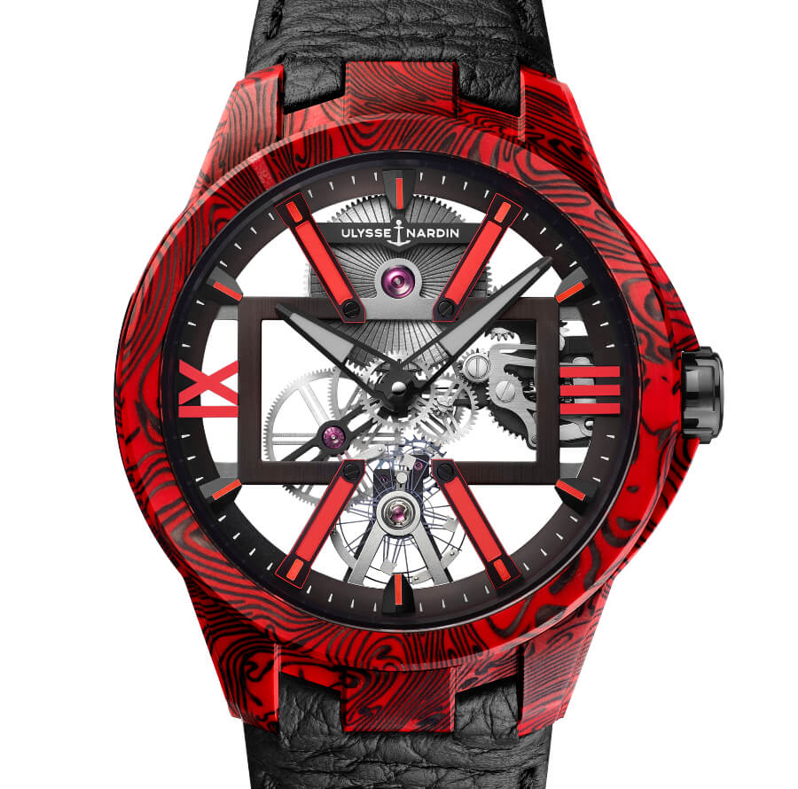 The New Ulysse Nardin Skeleton X Magma