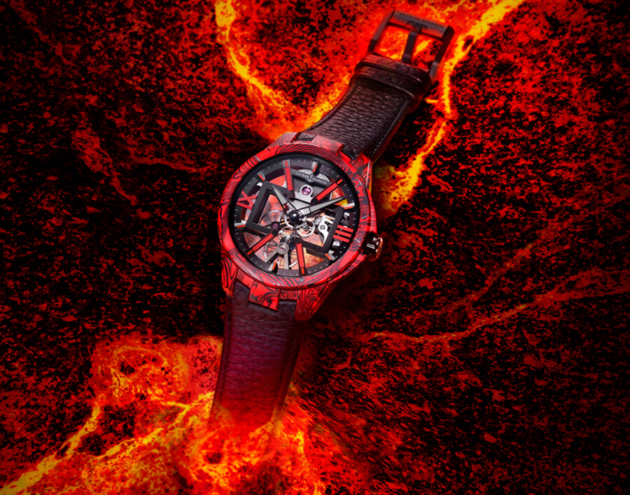Ulysse Nardin Skeleton X Magma Watch Review