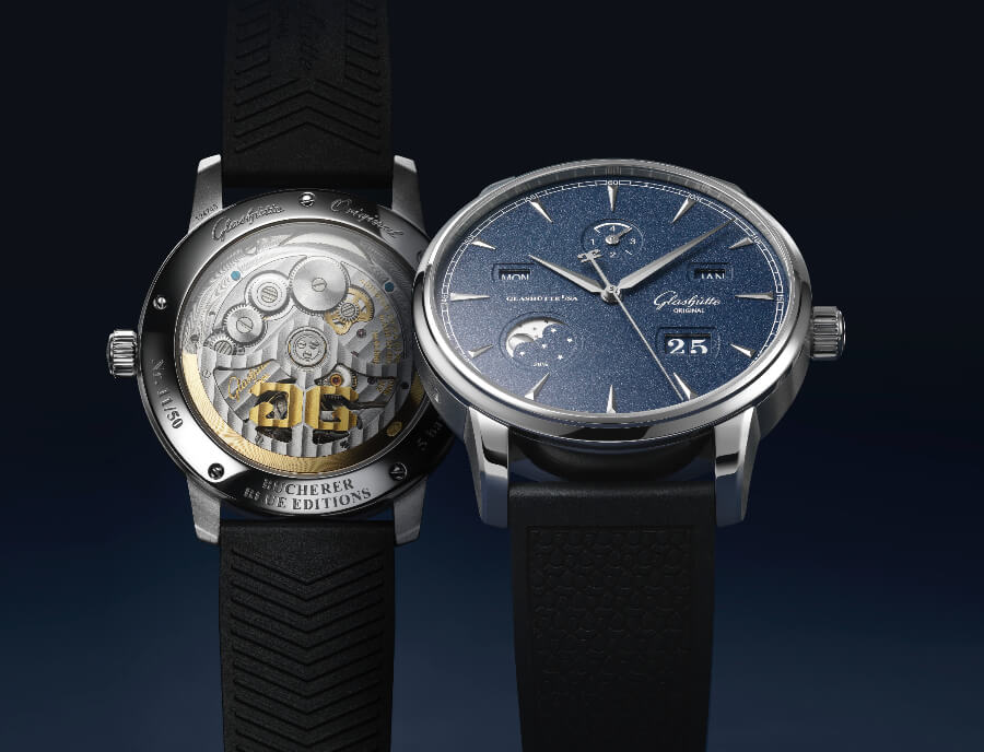 Glashutte Original Senator Excellence Perpetual Calendar Bucherer Blue Editions Watch Review