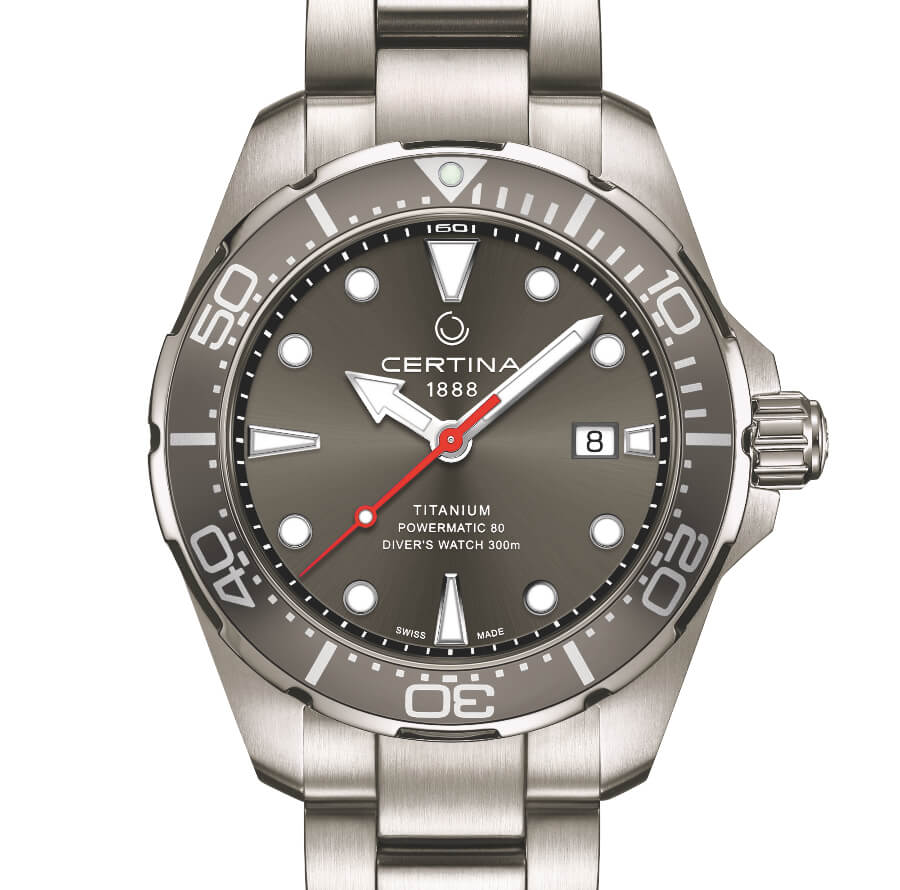 Certina DS Action Gent Diver Titanium