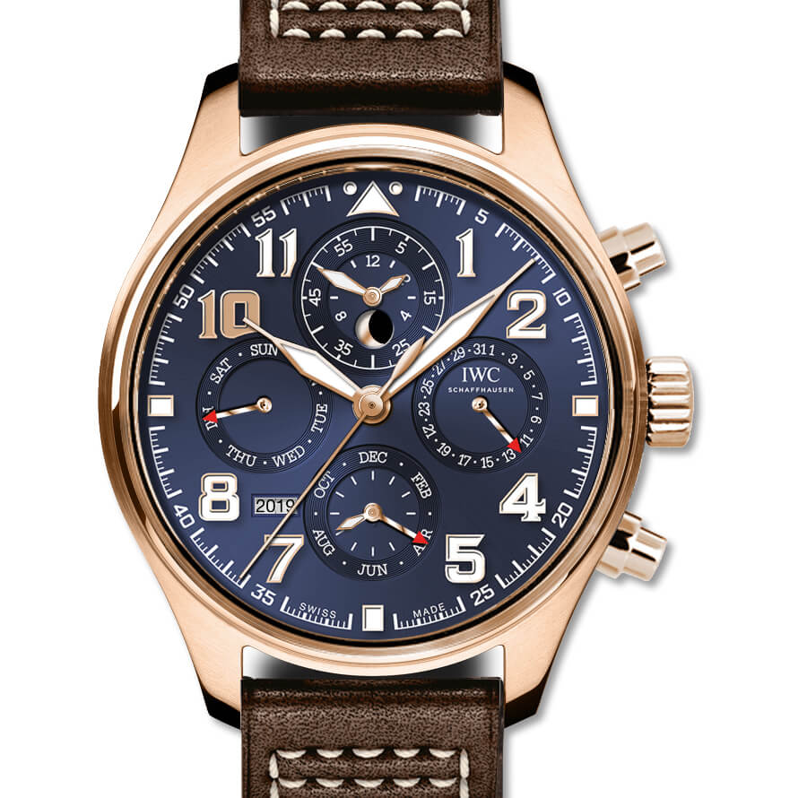 "IWC Pilot's Watch Perpetual Calendar Chronograph Edition ""Le Petit Prince"" Ref. IW392202"