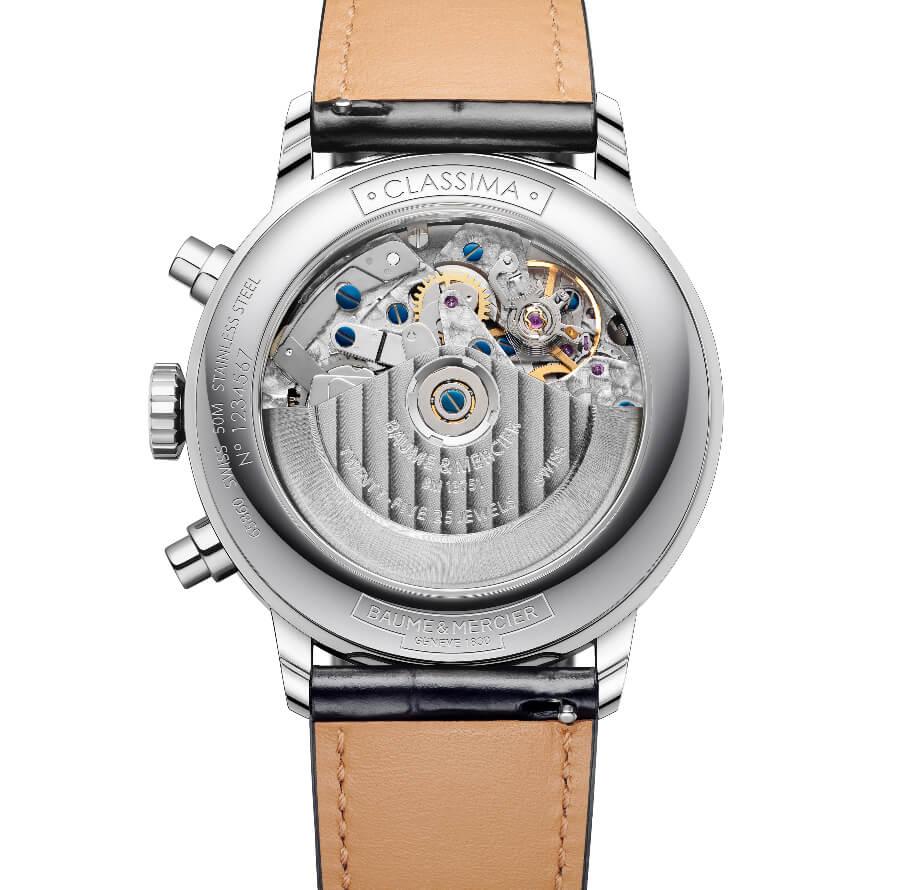 Baume & Mercier Classima Chronograph Complete Calendar Movement