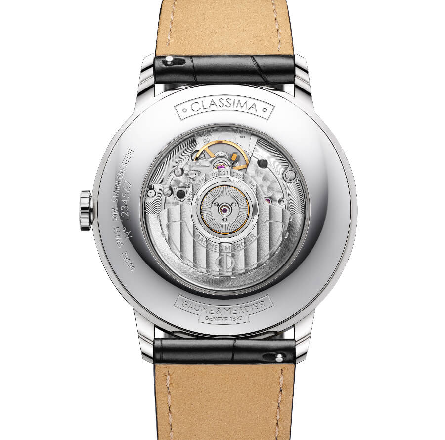 Baume & Mercier Classima Dual Time Movement