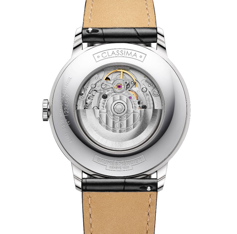 Baume & Mercier Classima Small Seconds Movement