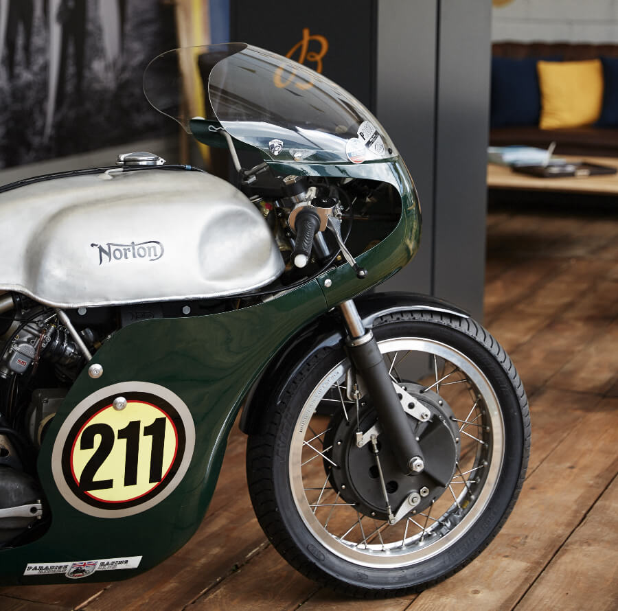 Norton Motorcycle Breitling