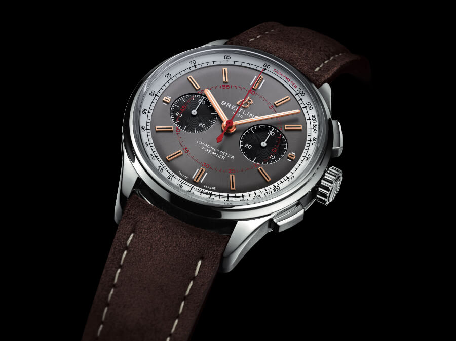 The New Breitling Premier B01 Chronograph 42 Wheels And Waves Limited Edition