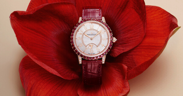 The New Jaeger-LeCoultre Dazzling Rendez-Vous Red