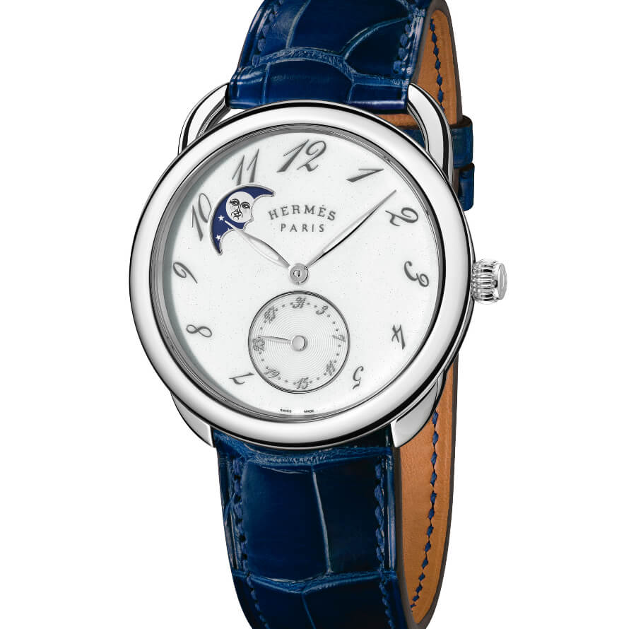 Hermes Arceau Petite Lune Watch