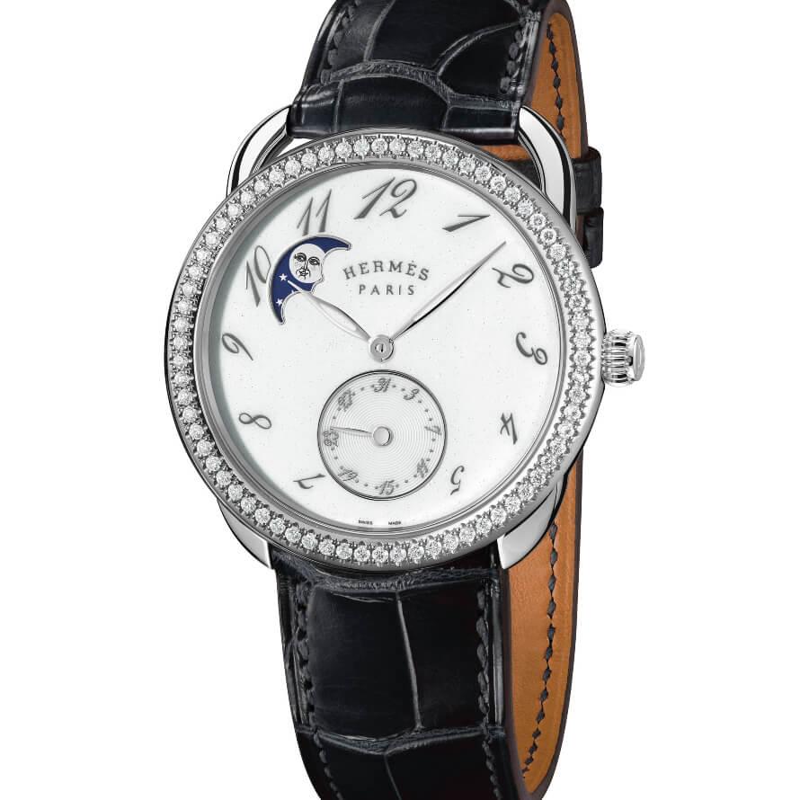 Hermes Arceau Petite Lune Ladies Watch
