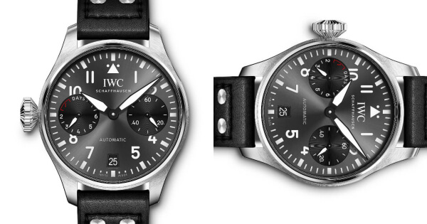 "The New IWC Big Pilot's Watch Edition ""Right-Hander"" Ref. IW501012 (Specs and Price)"