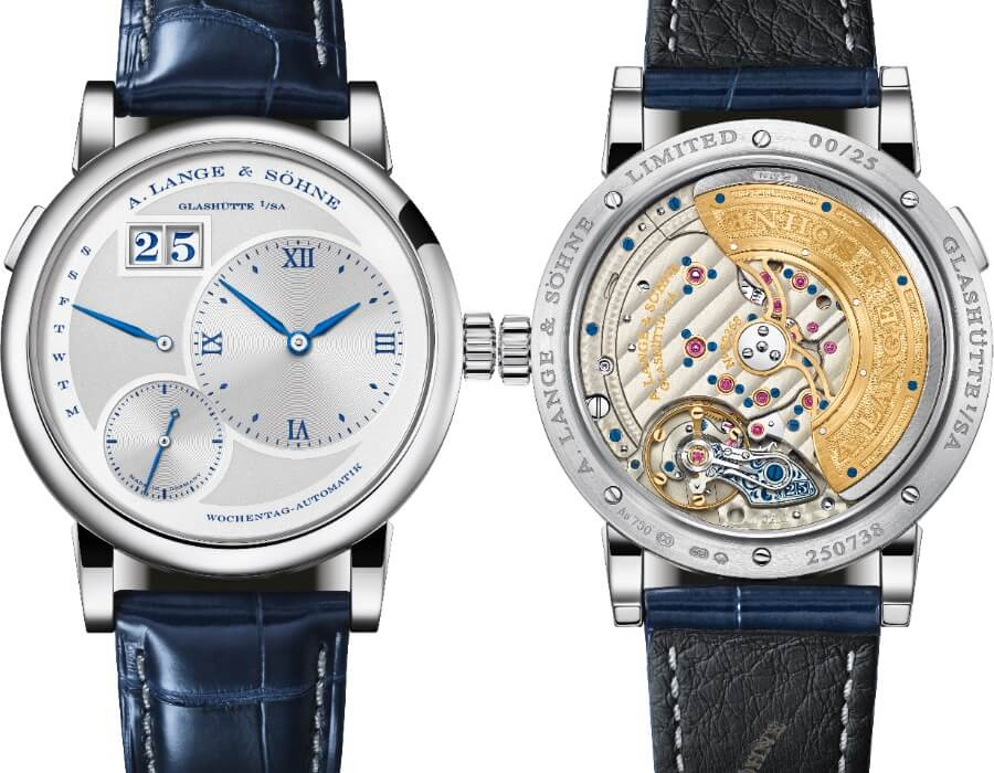 "The New A. Lange & Söhne Lange 1 Daymatic ""25th Anniversary"""