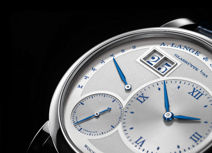 "A. Lange & Söhne Lange 1 Daymatic ""25th Anniversary""  Dial"