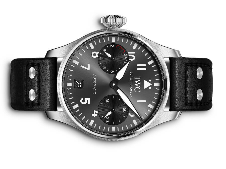 "The New IWC Big Pilot's Watch Edition ""Right-Hander"" Ref. IW501012"