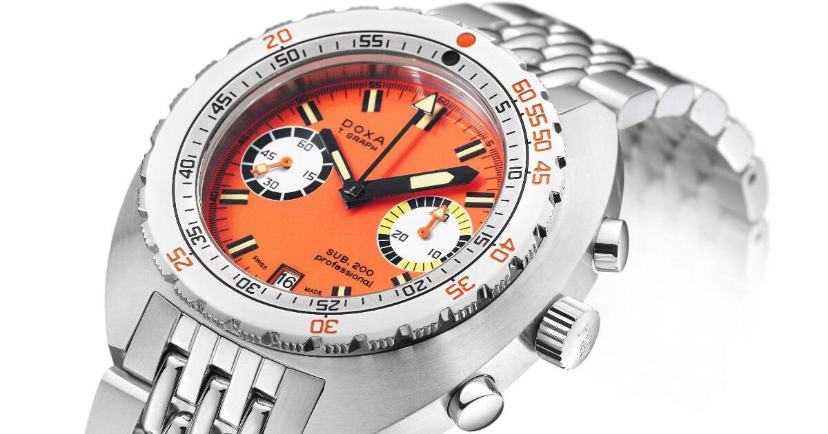 Doxa Sub 200 T.Graph in Stainless Steel (Specs and Price)