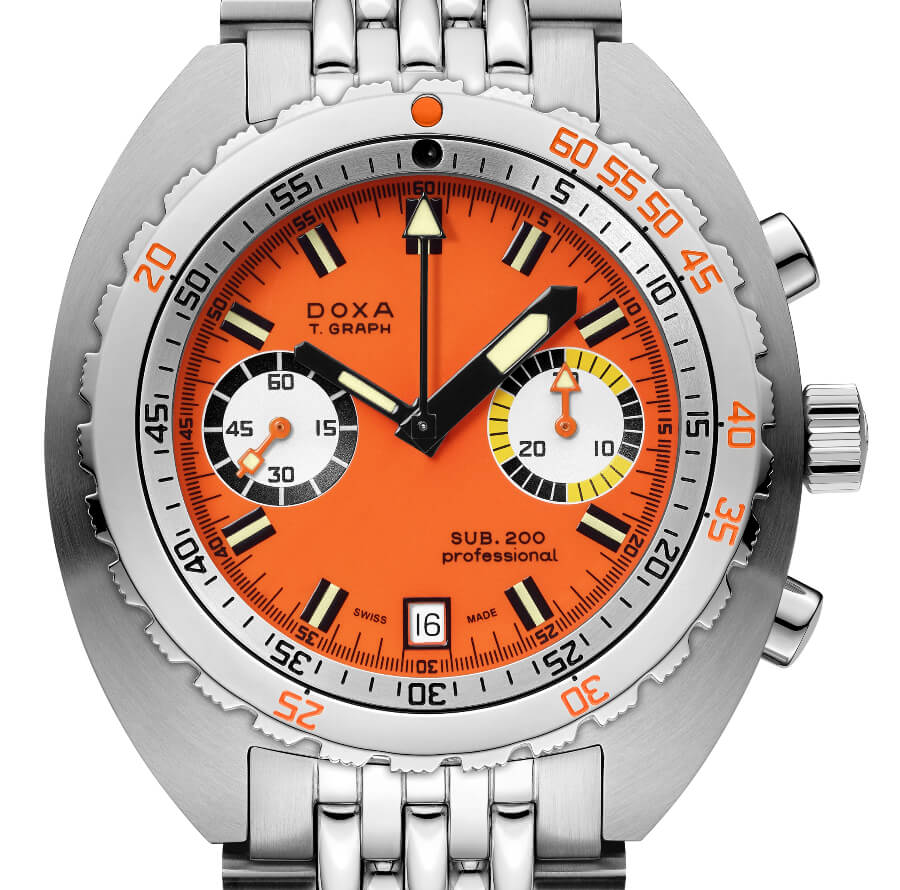 Doxa Sub 200 T.Graph in Stainless Steel