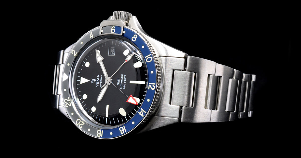 Yema Superman Heritage GMT (Price, Pictures and Specifications)