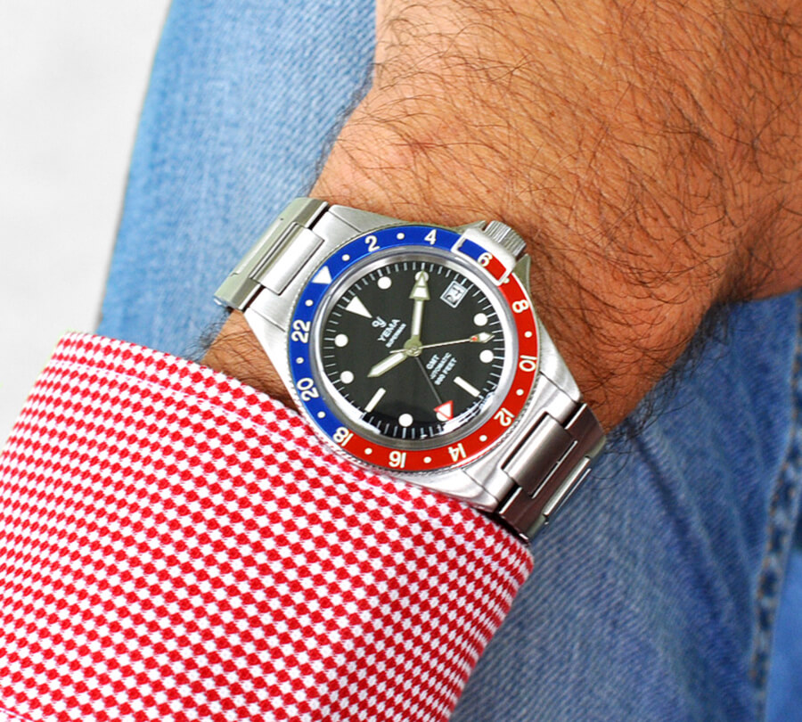 The New Yema Superman Heritage GMT