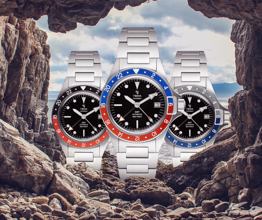 Yema Superman Heritage GMT Automatic