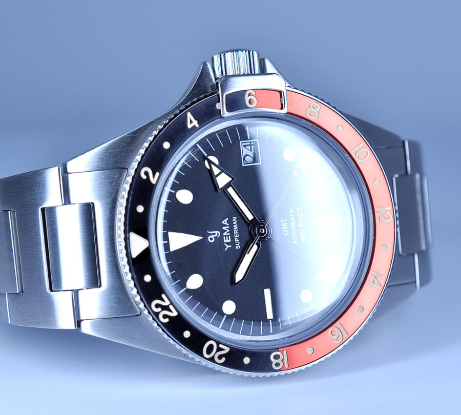 Yema Superman Heritage GMT Coke