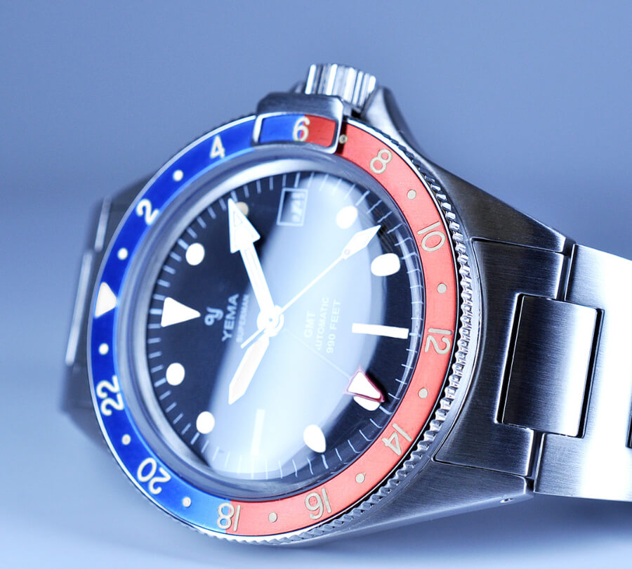 Yema Superman Heritage GMT Pepsi