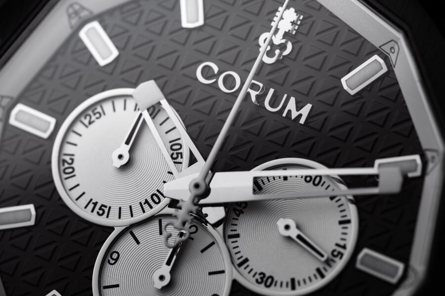 Corum Admiral AC-One 45 Chronograph Dial