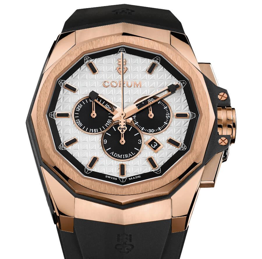 Corum Gold Chronograph Watch