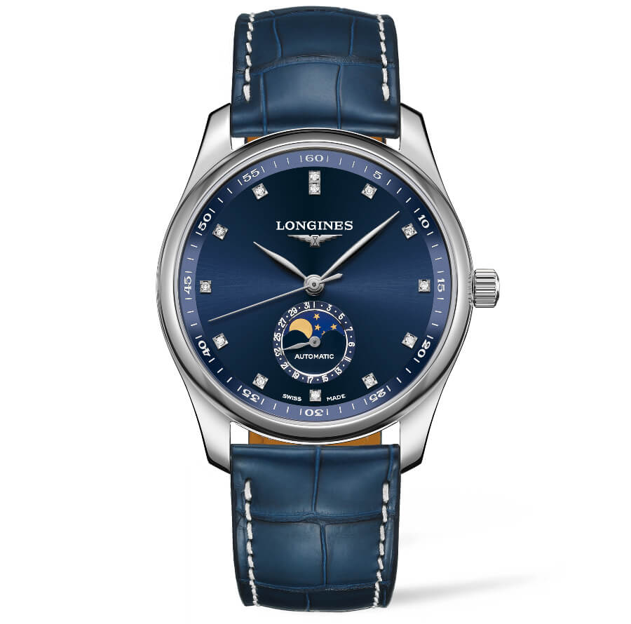 The New Longines Master Collection With Diamonds