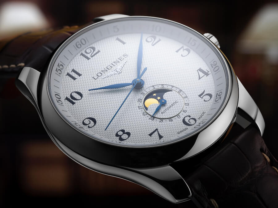 Longines Moon Phase Men Watch