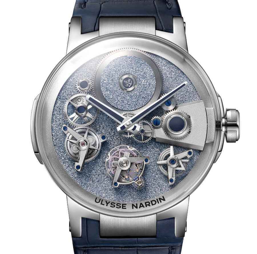 Ulysse Nardin's Executive Tourbillon Free Wheel Osmium