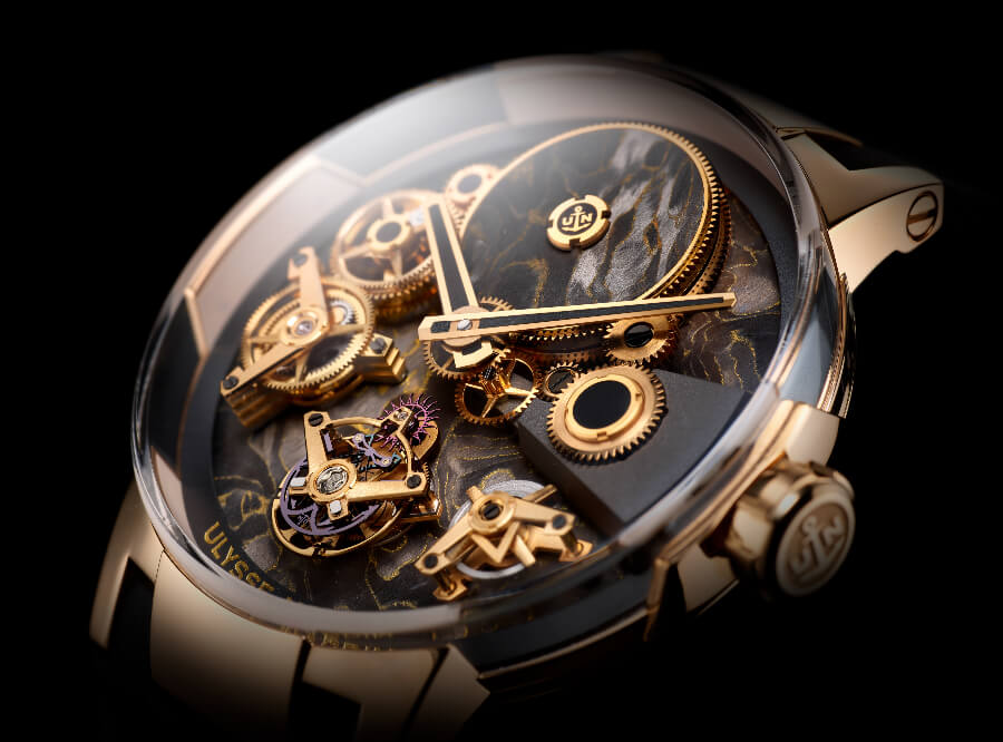 Ulysse Nardin's Executive Tourbillon Free Wheel Movement