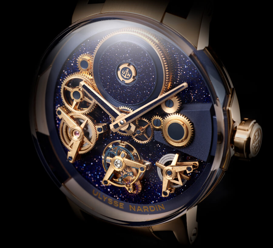 Ulysse Nardin's Executive Tourbillon Free Wheel Watch Review